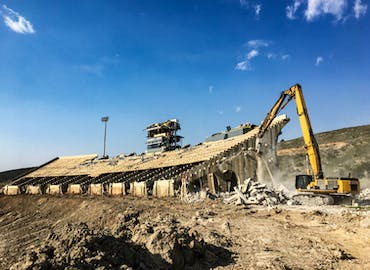 Colorado State University - Hughes Stadium Demolition