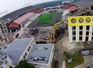 Florida Citrus Bowl Demolition