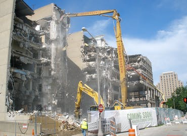 Cleveland State University — University Center Demolition