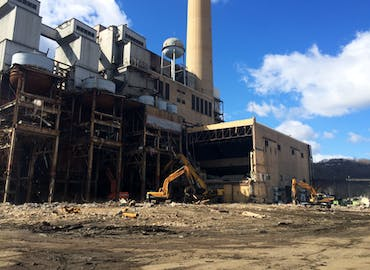 FirstEnergy R.E. Burger Power Plant Demolition Project