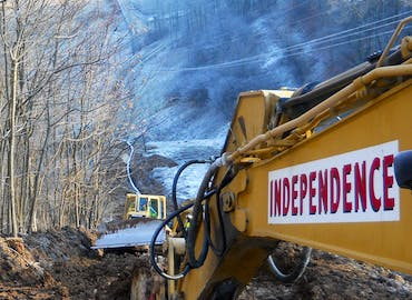Installation Of Roximately 15 Miles Pipeline Among Three Pump Stations Through The Hills Northern West Virginia