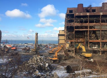 FirstEnergy Lake Shore Power Plant Demolition