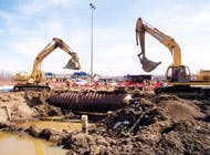 Independence Excavating hauled off 26,000 cubic yards of contaminated soils for disposal
